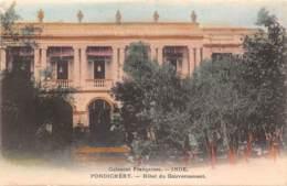 Inde Française - Divers / 14 - Pondichéry - Hôtel Du Gouvernement - India