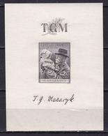 Tschjechoslavakia 1938 T.G. Masarijk Block Mi. Block 3 MNH - Blokken & Velletjes