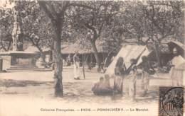 Inde Française - Divers / 74 - Pondichery - Le Marché - India