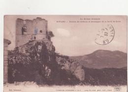 CPA - SOYANS - Ruines Du Château Et Montagne De La Forêt De Saou - France