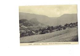 Cpa - 25 - Goumois - Doubs - Ruines Du Château De Francquemont - 33960 - CLB - France