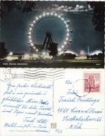 WIEN - Prater - Riesenrad Bei Nacht Gel. 1968 - Prater