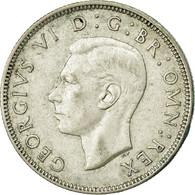 Monnaie, Grande-Bretagne, George VI, Florin, Two Shillings, 1942, TTB, Argent - 1902-1971 : Monnaies Post-Victoriennes