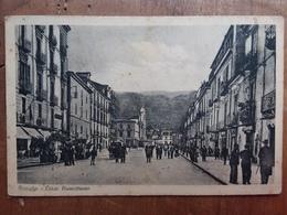 Nicastro (Catania) - Corso Numistrano - Cartolina Viaggiata + Spese Postali - Catania