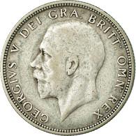 Monnaie, Grande-Bretagne, George V, Florin, Two Shillings, 1936, TB+, Argent - 1902-1971 : Monnaies Post-Victoriennes