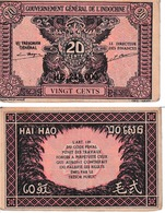 Indochine 20 Cents - Indochine