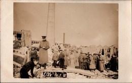 ! Fotokarte, Photo, Lille, Frankreich, 1. Weltkrieg, Explosion 10.1.1916, Echtfoto, Guerre - Lille