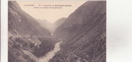 CPA - 59. ENV DE MOUTIERS-SALINS L'Isère Et La Route D'aigueblanche - Moutiers