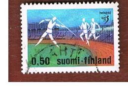 FINLANDIA (FINLAND) -  SG 786  -    1971   EUROPEAN ATHLETIC CHAMPIONSHIP     -   USED ° - Usados