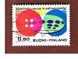 FINLANDIA (FINLAND) -  SG 789  -    1971   FINNISH PLASTICS INDUSTRY    -   USED ° - Usados