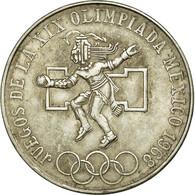 Monnaie, Mexique, 25 Pesos, 1968, Mexico City, TTB, Argent, KM:479.1 - Mexique
