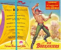Kleine Affiche Pub Reclame Ciné Cinema Bioscoop - Rio Beernem - De Boekaniers - Publicité Cinématographique
