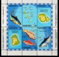 VANUATU - BLOC N° 4 ** (1983)  La Pêche - Vanuatu (1980-...)
