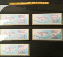 PREMIÈRES VIGNETTES LSA De FRANCE - PHILEXFRANCE 89 -  Etat ** Luxe - 1981-84 Types «LS» & «LSA» (prototypes)