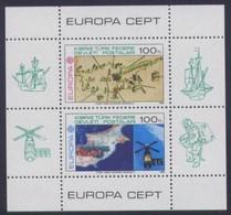 Chypre Turc Turks Cyprus CEPT 1983  Yvertn° Bloc 4 *** MNH Cote 40,00 Euro Europa - 1983