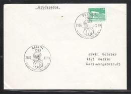 DDR 1983, Drucksache Mit 2 SStpl. Astrophytum / GDR 1983, Printed Matter With 2 Special Postmarks Astrophytum - Sukkulenten