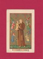 Neogotische Devotieprent S.Antonius A Padua - Religion & Esotericism