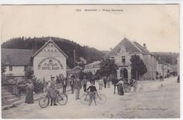 Doubs - Maiche - Place Centrale - France