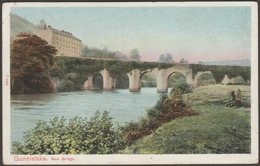 New Bridge, Gunnislake, Cornwall, 1909 - Peacock Postcard - England