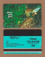 AC - TURK TELECOM PHONECARDS - WORLD ENVIRONMENT DAY - DEER DATE: 2002 RARE - Turkey
