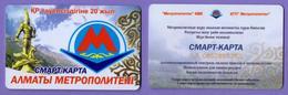 Kazakhstan CARDS METRO - Autres Collections