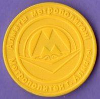 Kazakhstan 2011. Metro Token - Unclassified