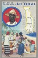 Colonies Françaises - LE TOGO -  Carte Et Coutumes - Togo