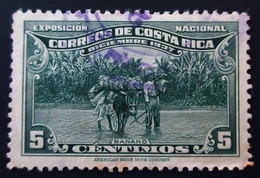 1937 Costa Rica Yt 181 . National Philatelic Exhibition . Oblitéré - Costa Rica