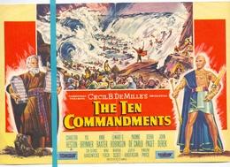Kleine Affiche Pub Reclame Ciné Cinema Bioscoop - Oud Brugge - De Tien Geboden - The Ten Commandments - Publicité Cinématographique