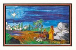 BRD AK BD Nr. 615 Erwartung Weihnachten Mundmaler Kyriacou - Noël