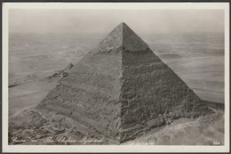 The Chefren Pyramid, Cairo, C.1930s - Ernst Landrock RP Postcard - Gizeh