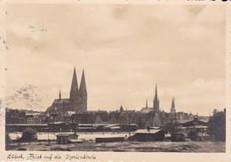 AK Lübeck - Blick Auf Die Marienkirche - 1936 (38498) - Lübeck