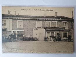 BUSSON CAFE RESTAURANT MOUILLET GARAGE VELO AUTOMOBILE Animée HAUTE MARNE - Autres Communes