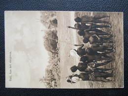 AK JAVA INDONESIA BALI Aan Het Vliegeren 1914  ////  D*36136 - Indonesien