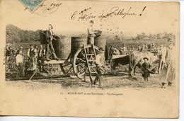 205. CPA 24 MONTPON ET SES ENVIRONS. VENDANGES 1905 - France