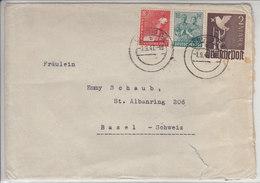 LETTRE  POUR LA SUISSE  - 1947 - Zone Soviétique