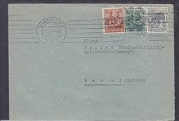 LETTRE  POUR LA SUISSE  - 1948 - Zone Soviétique