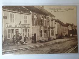 BETTAINCOURT Café CUCCHI CPA HAUTE MARNE - Autres Communes