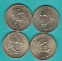 1 Dollar - 2007 - Washington, Adams, Jefferson & Madison (KMs 401-404) - Emissioni Federali