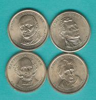 1 Dollar - 2008 - Monroe, Adams, Jackson & Van Buren (KMs 426-429) - Emissioni Federali