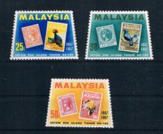 Malaysia 1967 Briefmarken Mi.Nr. 47/49 ** - Malaysia (1964-...)