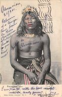 ALTE   AK   PARAGUAY /  Indio  - Gelaufen 1905 - Paraguay