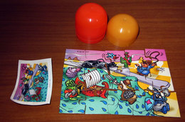 K 02 N 107 PUZZLE KINDER + BPZ - Puzzles