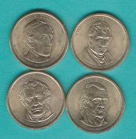 1 Dollar - 2009 - Tyler, Polk, Taylor & Harrison (KMs 450-453) - Emissioni Federali