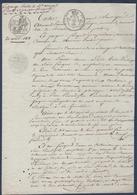 A.Proust-Froger à Richelieu,Echange Et Contre-échange Avec Jacques Fouquet à Messemé.Ceaux. - Manuscripts