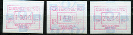 """PIA - BEL - 1990 - Tps De Distributeurs : """"Cisterphil '90"""" - Esposizione Filatelica A Villers-la-Ville - (Yv 32) - Belgio"""