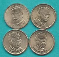 1 Dollar - 2012 - Arthur, Cleveland (1st & 2nd Terms) & Harrison - Emissioni Federali