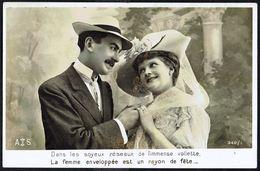 Couple - La Fiancée Sous Voilette - Non Circulé - Not Circulated - Nicht Gelaufen. - Couples