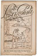 Août 1920 - La Piste - Organe Officiel Des Baden Powell Belgian Boy & Sea Scouts - 4 Scans - Scoutisme