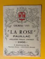 3977 - Château La Rose 1966 Pauillac - Bordeaux